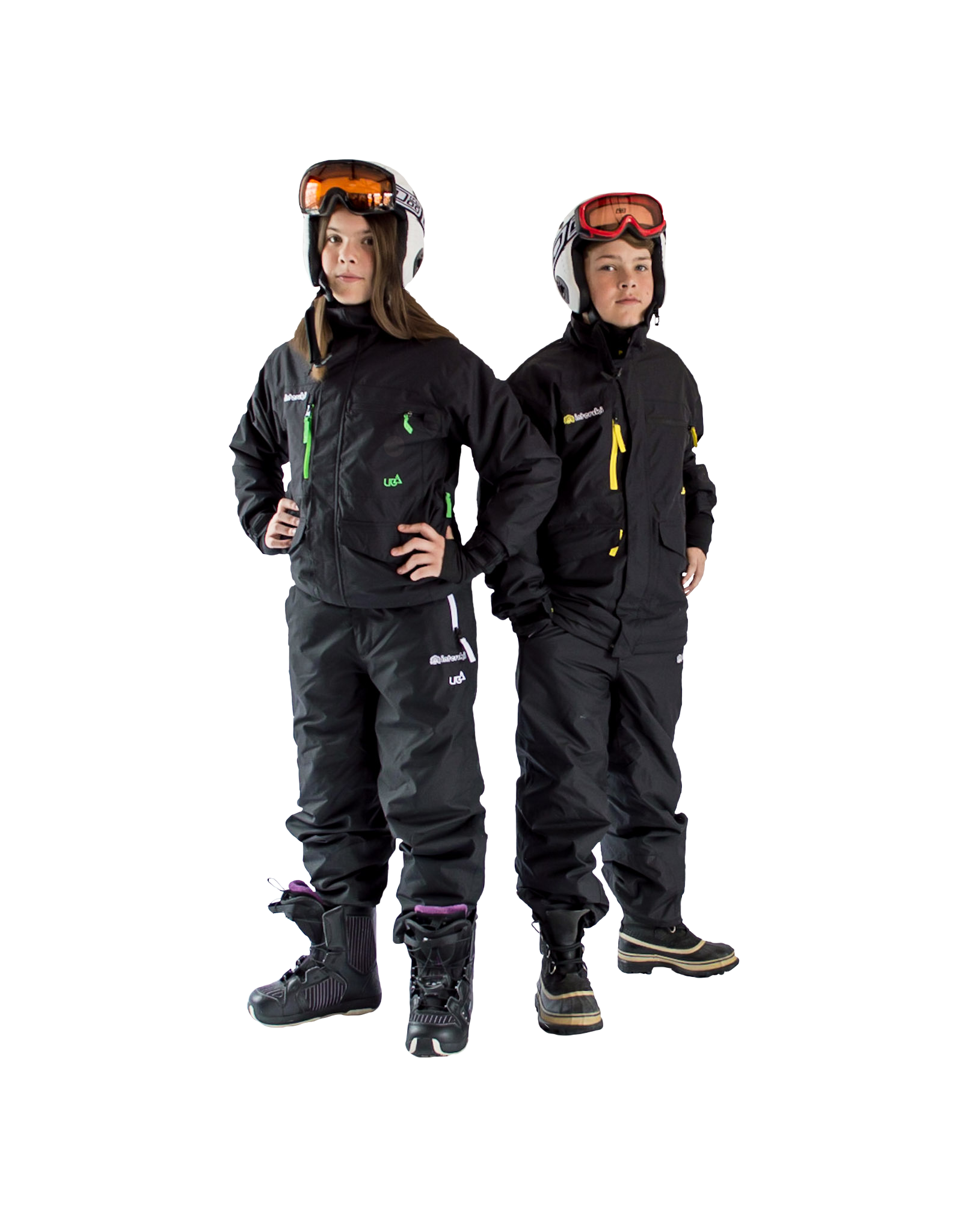 Rental Ski Suit and Helmet