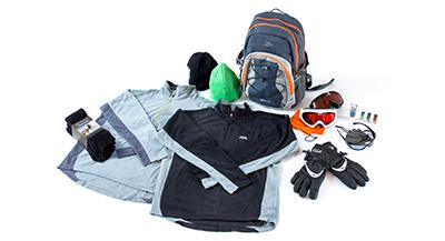 Male Ski Accessory Pack
