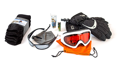 Female Ski Accessory Pack