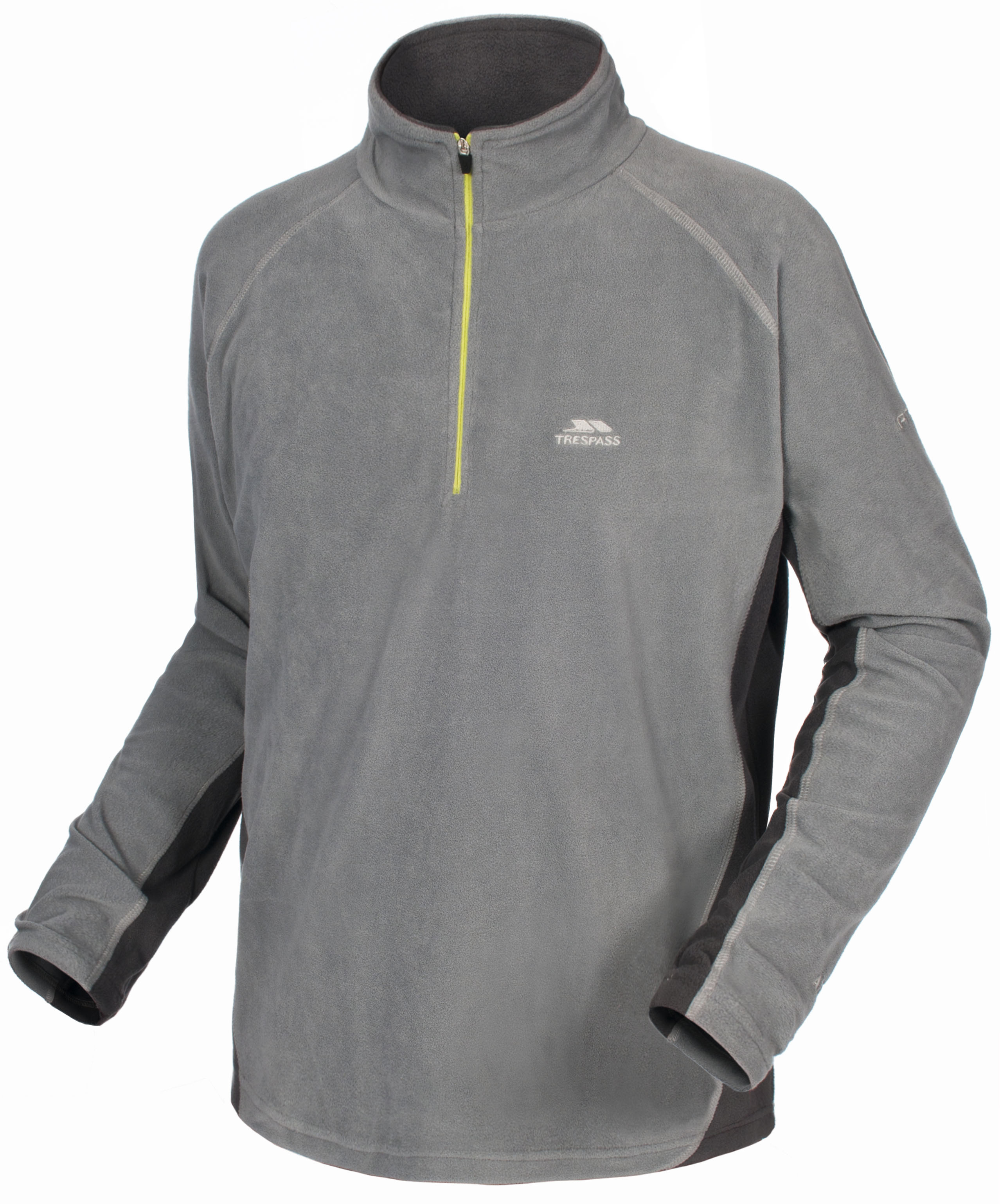 Trespass Mens Fleece - Smoke